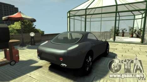 Alfa Romeo Nuvola para GTA 4 Vista posterior izquierda