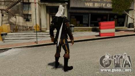 Geralt de Rivia v3 para GTA 4 tercera pantalla
