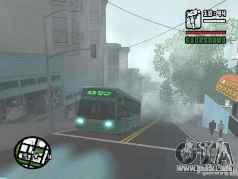 Metalpar 22 para vista lateral GTA San Andreas