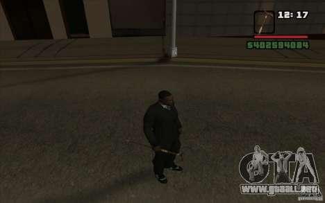 Nuevo bastón para GTA San Andreas quinta pantalla