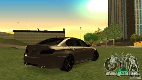 Velocímetro VAZ 2110 para GTA San Andreas segunda pantalla