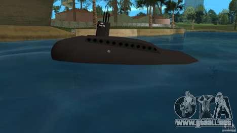 Vice City Submarine without face para GTA Vice City left