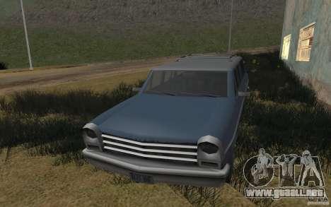 La casa verde para GTA San Andreas segunda pantalla
