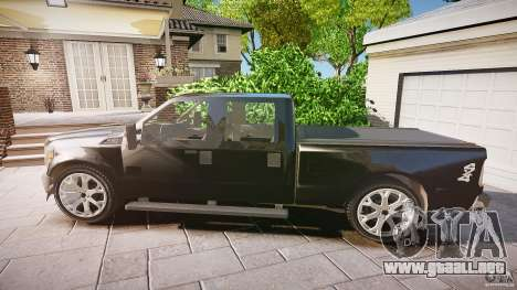 Ford F-350 Unmarked [ELS] para GTA 4 left