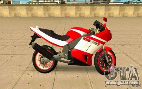 NRG900 GTAIV para GTA San Andreas left