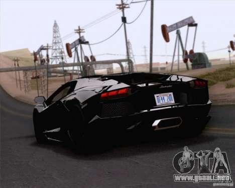 Lamborghini Aventador LP700-4 2011 para GTA San Andreas left