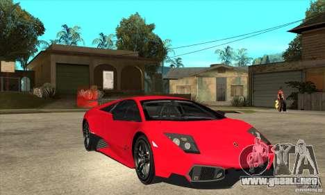 Lamborghini Gallardo LP570-4 SV para GTA San Andreas vista hacia atrás