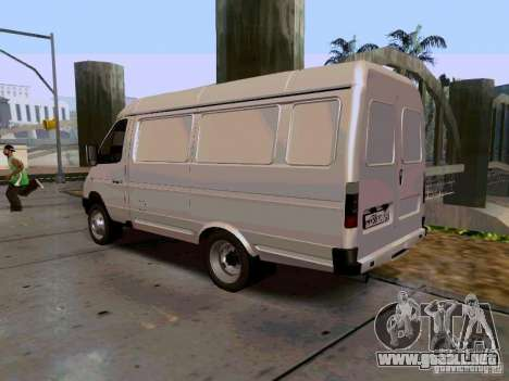 Gacela 2705 1994 para GTA San Andreas left