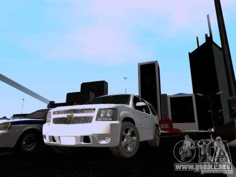 Chevrolet Tahoe LTZ 2013 para GTA San Andreas left