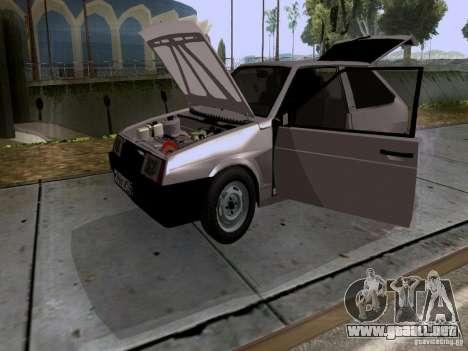Drenaje VAZ 2108 para visión interna GTA San Andreas