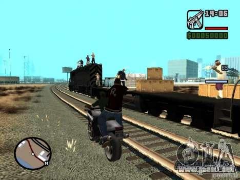 Great Theft Car V1.0 para GTA San Andreas séptima pantalla