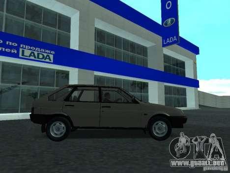 VAZ 2109 CR v. 2 para GTA San Andreas left
