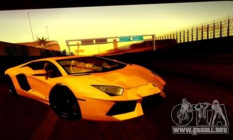 Lamborghini Aventador LP 700-4 para la visión correcta GTA San Andreas