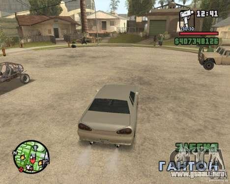 Radar zoom para GTA San Andreas segunda pantalla