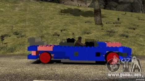 LEGOCAR para GTA 4 left
