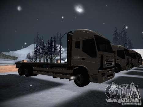 Iveco Stralis Long Truck para la visión correcta GTA San Andreas