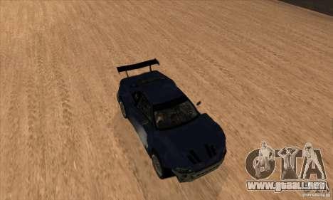 Nissan Skyline R34 GT-R LM para la vista superior GTA San Andreas