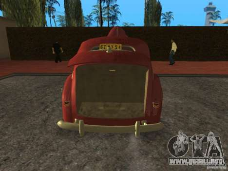 Ford 1940 v8 para GTA San Andreas vista hacia atrás