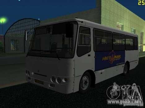 Bogdan A09202 v2 para GTA San Andreas