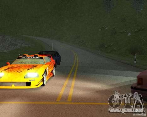 Nuevos caminos en San Fierro para GTA San Andreas séptima pantalla