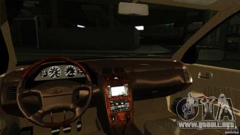 Infiniti I30 A32 Kouki para visión interna GTA San Andreas