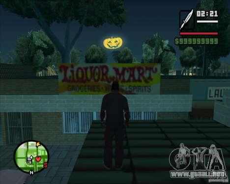 Happy Halloween Mod para GTA San Andreas tercera pantalla