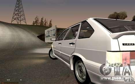ВАЗ 2114 calidad para GTA San Andreas left