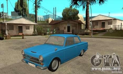 Lotus Cortina Mk1 1963 para GTA San Andreas