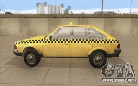 AZLK Moskvich 2141 Taxi v2 para GTA San Andreas left