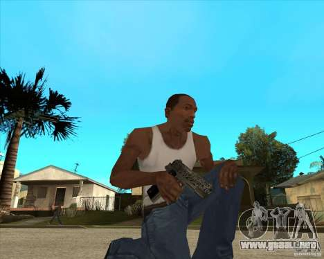 Colt 45 para GTA San Andreas segunda pantalla