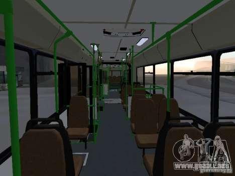 Autobuses 6222 para vista inferior GTA San Andreas