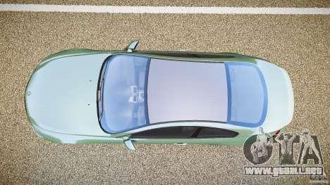 BMW M6 v1.0 para GTA 4 vista hacia atrás