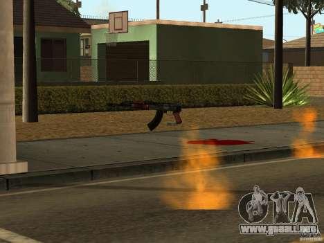 Armas nacional-versión 1.5 para GTA San Andreas octavo de pantalla