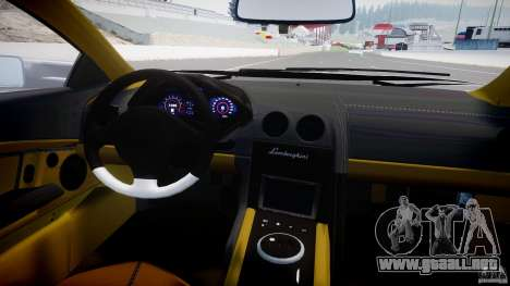 Lamborghini Reventon v2 para GTA 4 visión correcta