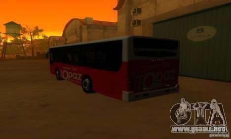 Daewoo Bus BC211MA para la visión correcta GTA San Andreas