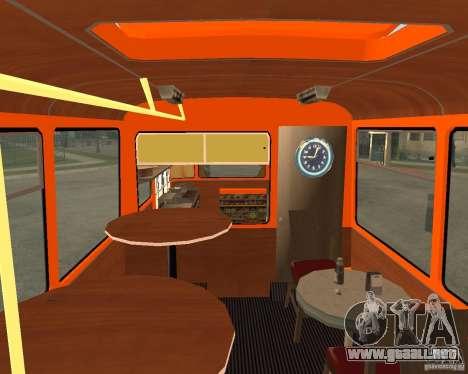 LIAZ-677 (momento de Café) para GTA San Andreas left