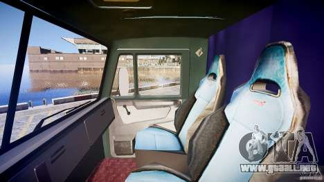 KAMAZ 4310 v 2.0 para GTA 4 vista interior