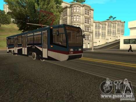 El nuevo tranvía para GTA San Andreas tercera pantalla