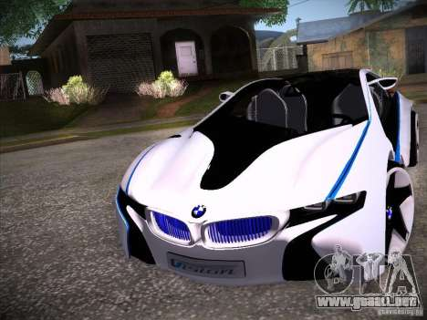 BMW Vision Efficient Dynamics I8 para GTA San Andreas left
