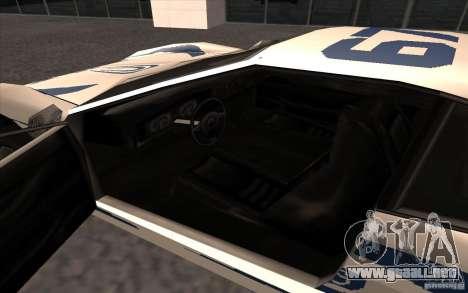 El nuevo Turismo para la visión correcta GTA San Andreas
