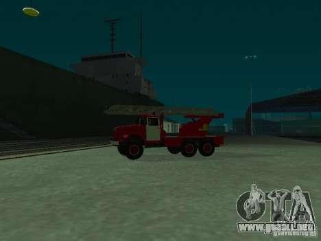 ZIL 131 Al-30 para GTA San Andreas left