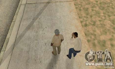 Colisión de GTA 4 para GTA San Andreas quinta pantalla
