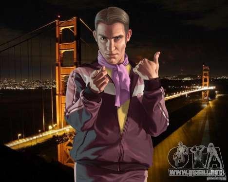 Pantalla de arranque en San Francisco para GTA 4 quinta pantalla