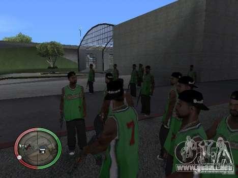 La gente de lluvia para GTA San Andreas segunda pantalla