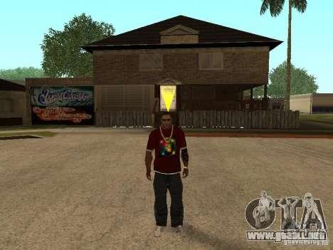 Mike Windows para GTA San Andreas quinta pantalla
