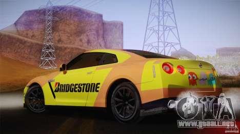 Nissan GTR R35 Tunable v2 para la visión correcta GTA San Andreas