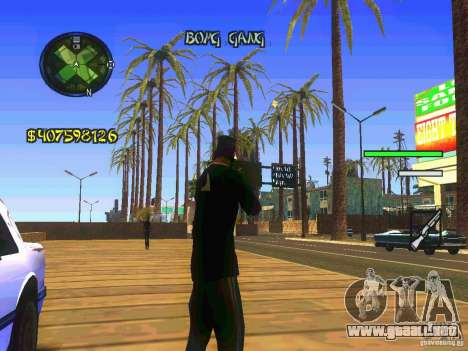 HUD Convenient and easy BETA para GTA San Andreas segunda pantalla