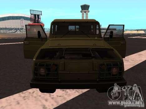 UAZ-3907 Jaguar para GTA San Andreas left