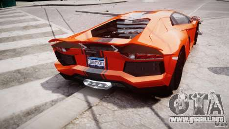 Lamborghini Aventador LP700-4 2011 [EPM] para GTA 4 interior