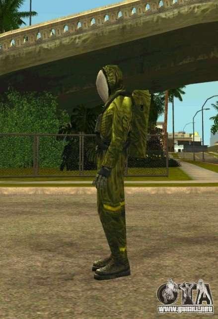 Pieles de S.T.A.L.K.E.R. para GTA San Andreas segunda pantalla